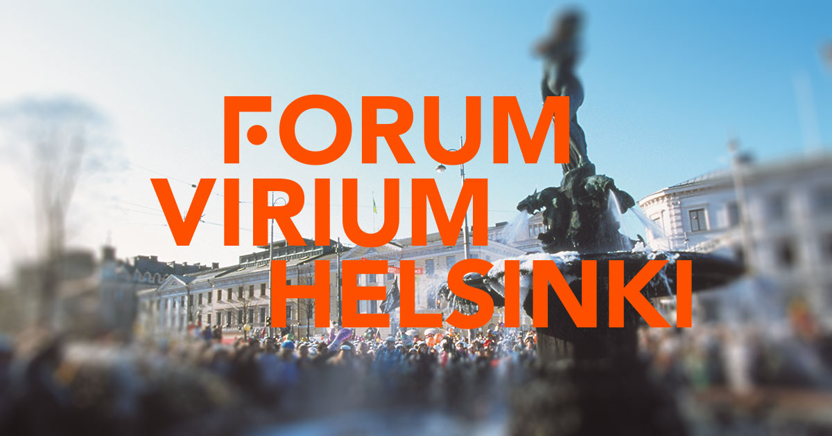 Frontpage - Forum Virium Helsinki