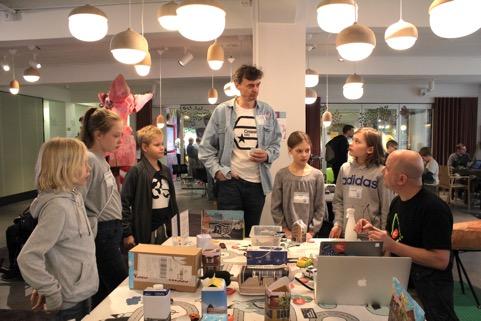 Forum Virium Helsinki rakensi nuorten pienoisälykaupunkia IoT:n avulla