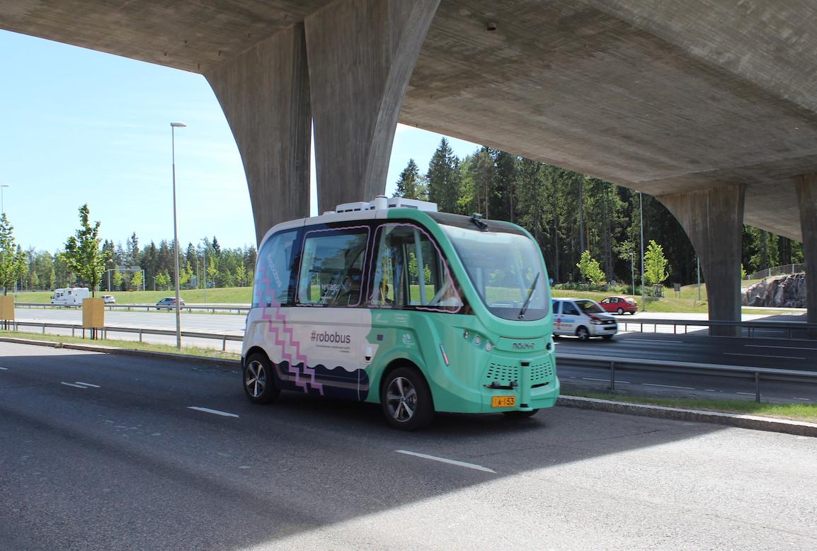 SOHJOA Baltic – Robot buses to aid smart public transport