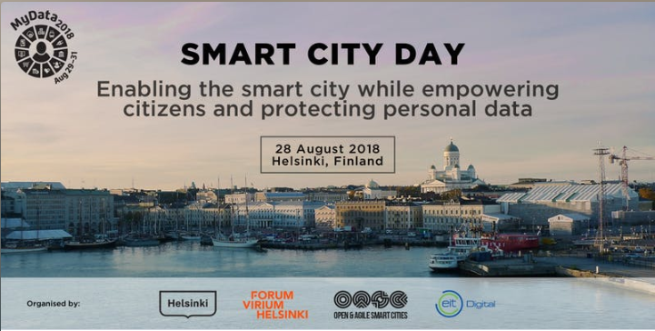Smart City Day at MyData 2018