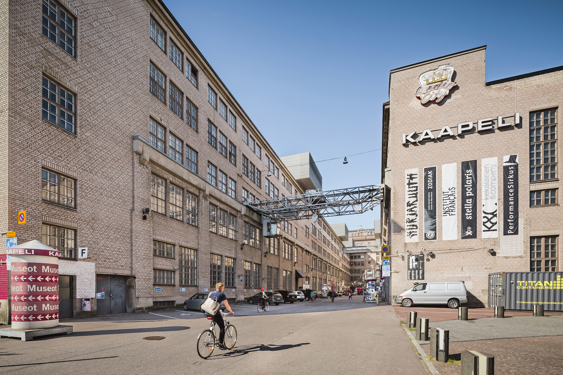 The biggest cultural centre in Finland connects its band rehearsal rooms to the Internet of Things