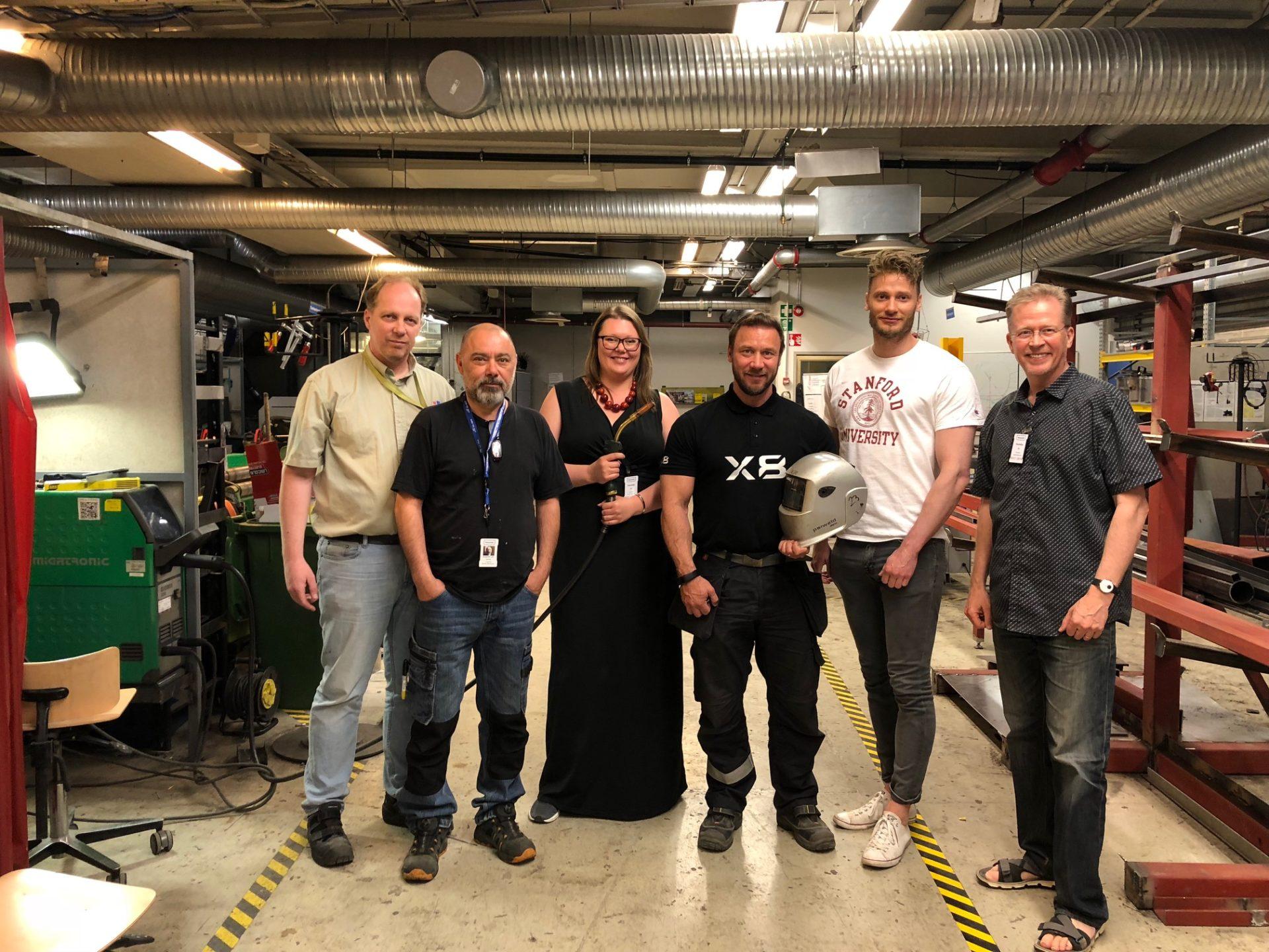 Tekoäly opettaa hitsaamaan Helsingissä – opetus paranee ja rahaa säästyy