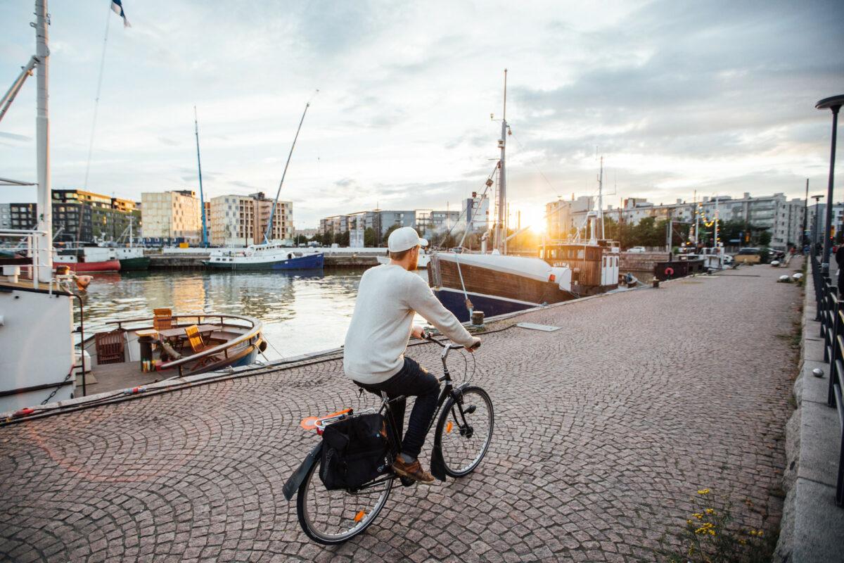 Edistä kestävää liikkumista Jätkäsaaressa, osallistu työpajaan