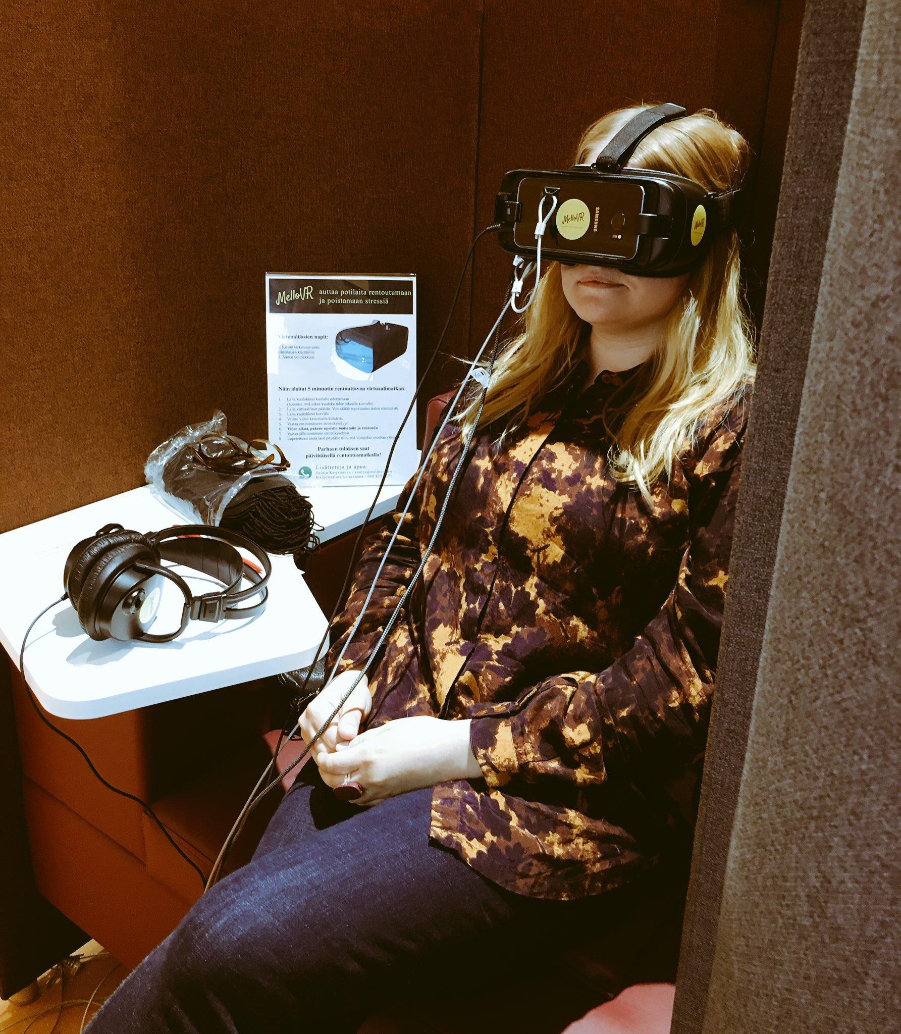 Hammashoidon asiakkaat virtuaalimatkalle Kalasataman kokeilussa