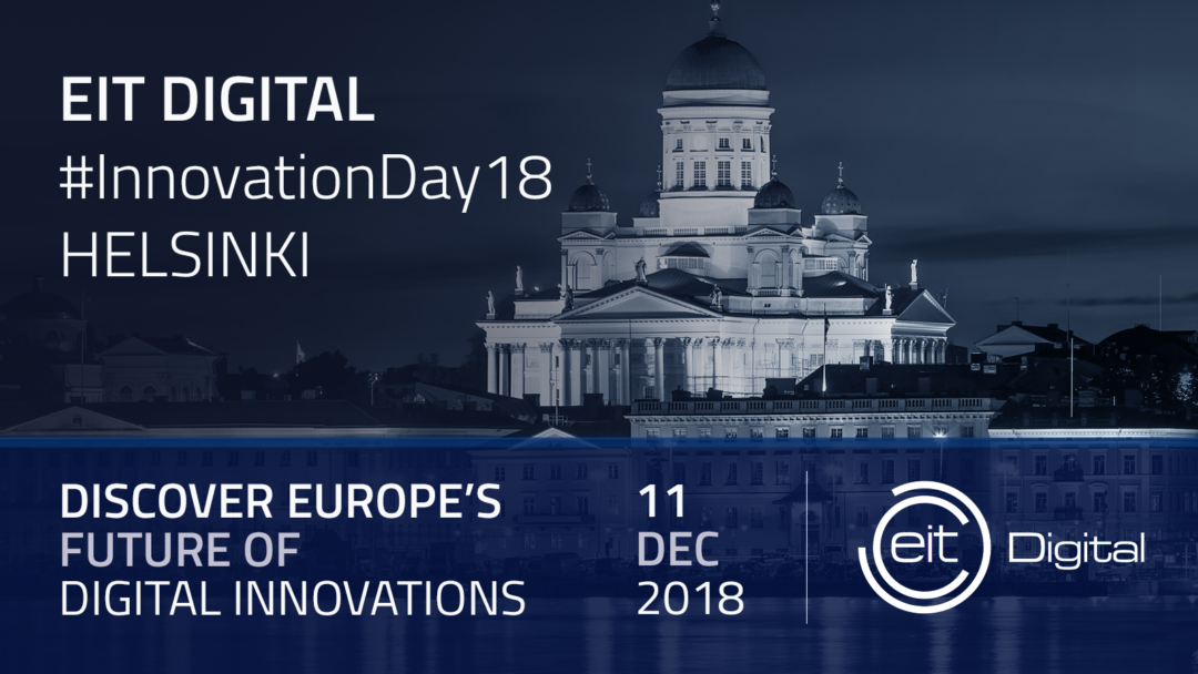 EIT Digital Innovation Day 2018