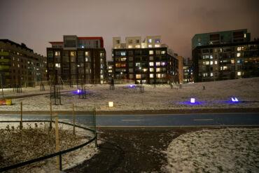 Get Home Safelysmart lights Jätkäsaari
