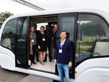 autonomous vehicle ITS congress