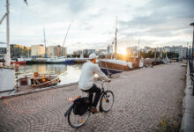 People in Helsinki encouraged to sustainable transport – rewarded with free sauna