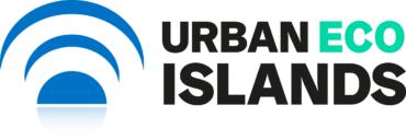 urban eco islands logo color rgb