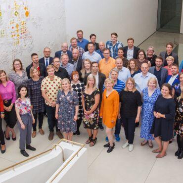 Forum Virium henkilöstö 2019