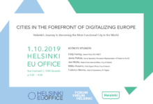 Cities in the forefront of digitalising Europe