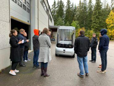 Fleetonomy robot bus