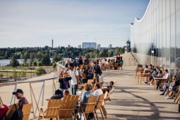 Helsinki Ode library smart city. Photo: Jussi Hellsten