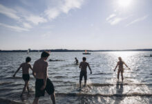 Water temperature now available online in Helsinki – see the water temperatures at eight popular beaches