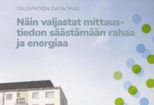 Säästä taloyhtiösi energialaskussa datan avulla – katso vinkit ilmaisesta oppaasta