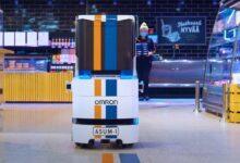 ASUMI jakelurobotti kulkee itse hississä ja kuljettaa ruokaostokset ovelle asti