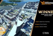Helsingille pääpalkinto digitaalisten kaupunkien sarjassa kaupunkirakentamisen maailmankongressissa