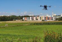 Elisa Oyj ja Vertical Hobby pilotoivat dronepalveluja lokakuussa