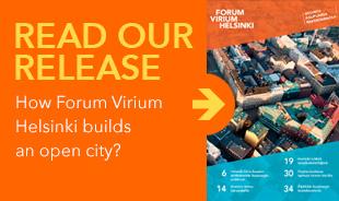 Read our release - How Forum Virium Helsinki builds an open city?